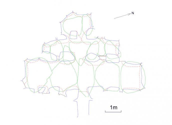 Grundplan af Hvisselhøj
