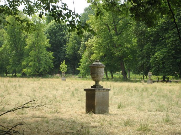 Glorup Have, Rester af det franske haveanlæg
