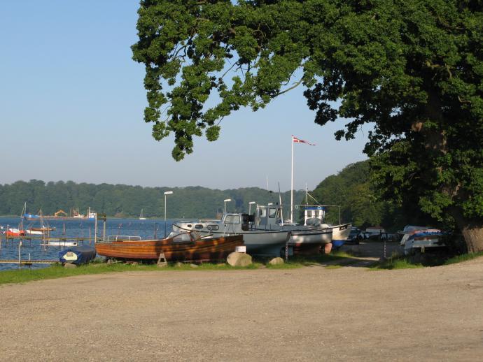 Bådeklubben ved Teglgård.