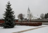 Them Kirke i sne