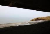 udsigt fra bunker
