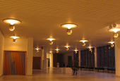 main hall