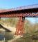 Broen set nede fra