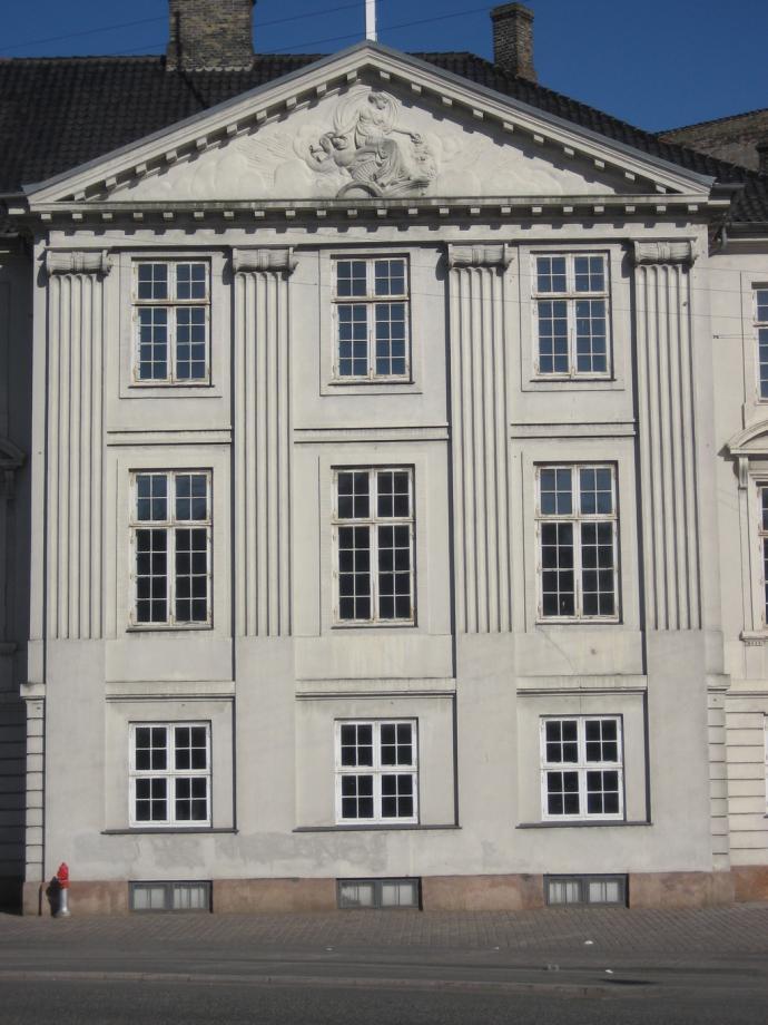 Harsdorffs hus - Pilasterfacade