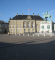 Amalienborg royal courtyard with the statue