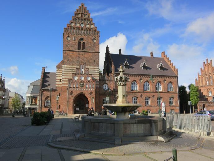 Kirkeårnet til Sankt Laurentii Kirke