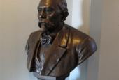 Bronzebuste af Severin Jørgensen (1842-1926).