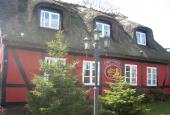 Støvlet-Cathrines Hus i Sorø skilt