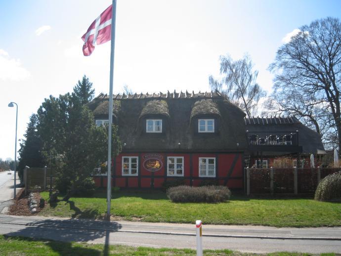 Støvlet-Cathrines Hus i Sorø på afstand