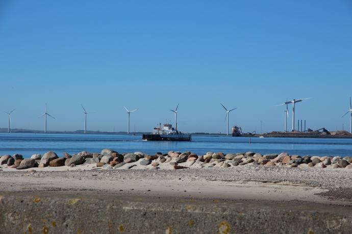 Færgen til Thyborøn