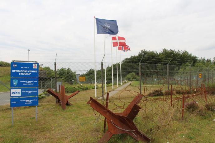 Hovedindgang og sluse til bunker 7 - NATO CAOC