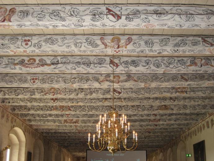 Holckenhavn-loftet i riddersalen