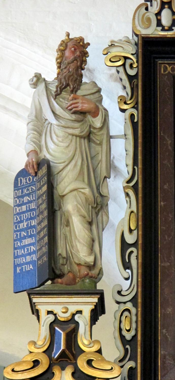 Provst Globs epitafium i Sct. Nicolai Kirke Køge