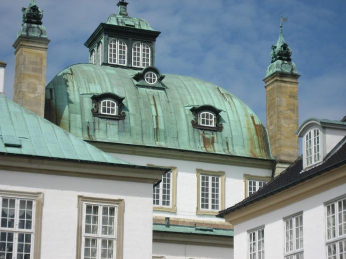 Fredensborg Slot, kuplen