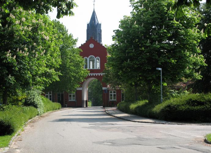 Adlerhus - fra Hindsgavl mod Middelfart