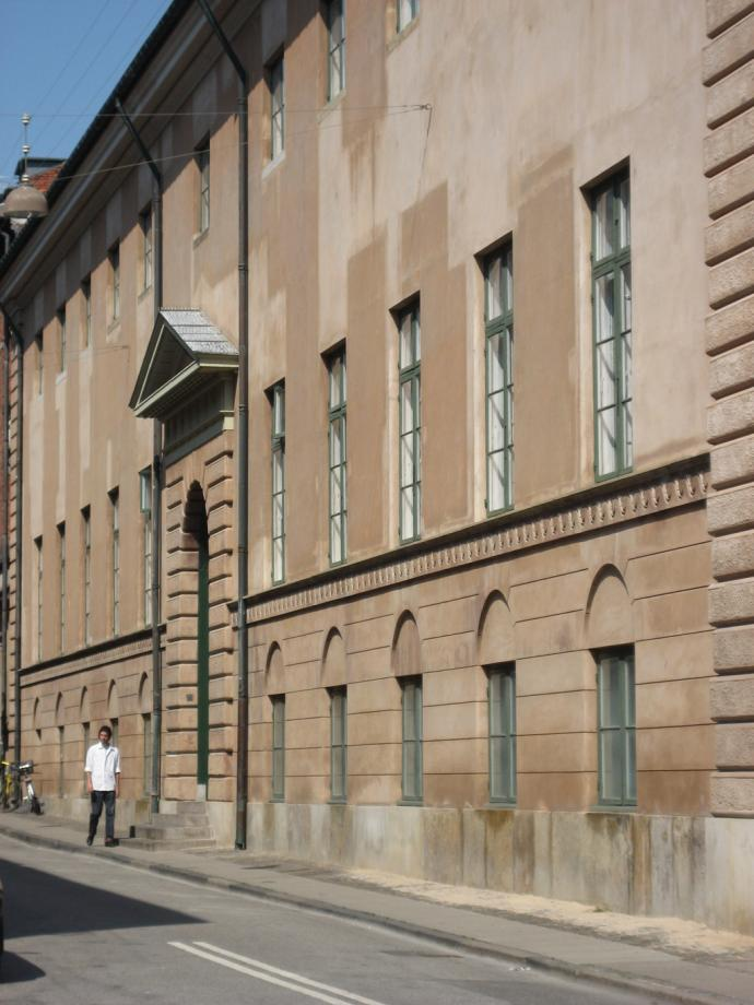 Københavns Råd- og Domhus, bagside