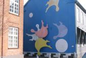 De malede husgavle i Brande