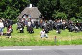 Motorcykeltræf ved Hjulmandshuset
