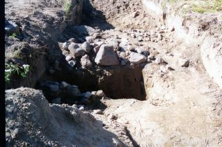udgravning ved Lillevang