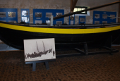 isbådene på Isbådemuseet ved Halsskov