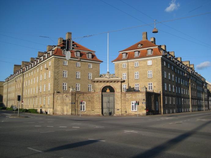 Sølvgade Kaserne, 1