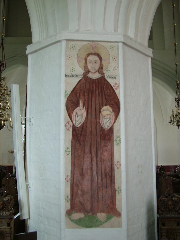 Denne er Frelserens højde i Køge Kirke