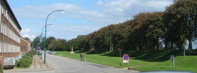 Fredskeeperrosenbeddet ved Bülows Kaserne