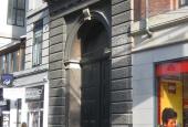Københavns Råd- og Domhus, Port ved Frederiksborggade