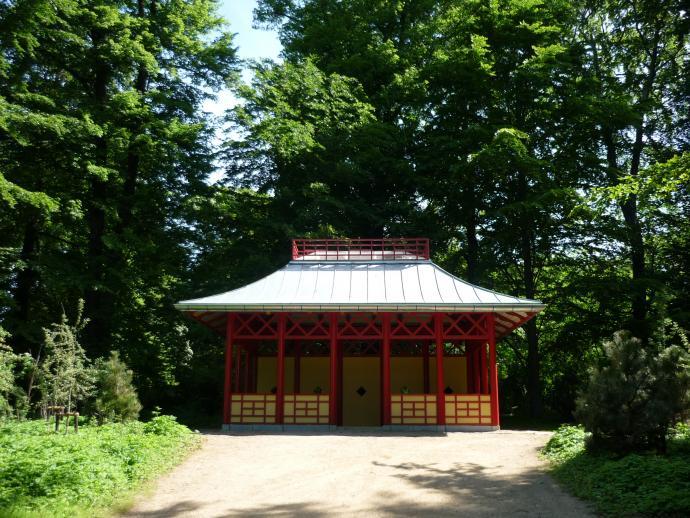 Kinesisk Pavillon i Søndermarken