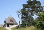 Knud Rasmussens Hus en sommerdag