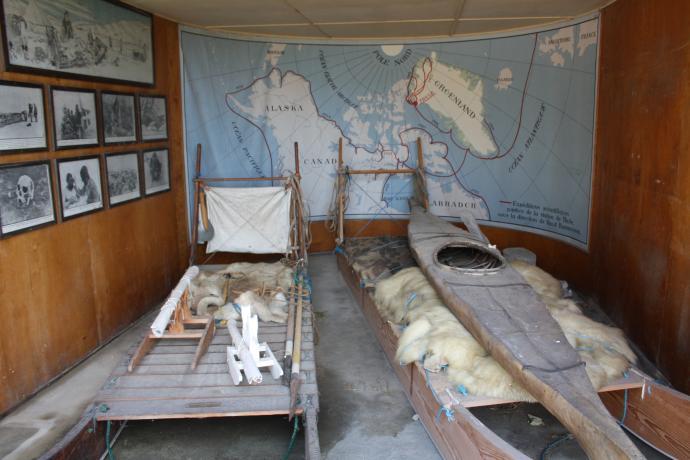 Effekter fra Knud Rasmussens mange ekspeditioner