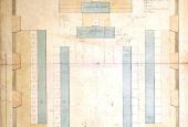 Tegning af stænderforsamlingssal