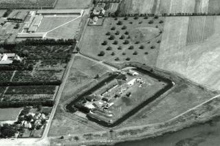 Luftfotografi af Kongelundsfort