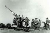 90 mm luftværnkanon.