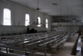 Christiansfeld, Brødremenighedens kirke, indre