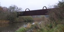 En bro i bytte for lokomotiver
