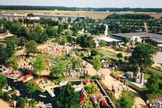 Legoland set oppe fra