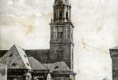 Vor Frelsers kirke og Lille Mølle ca. 1898