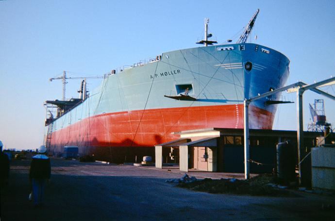 Lindø Shipyard about July 1966