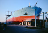 Lindø Shipyard about July 1966