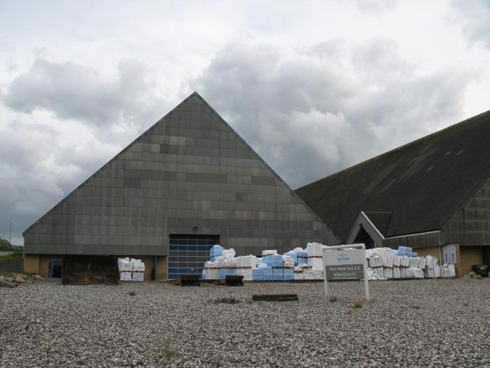 Saltindvinding ved Mariagerfjord bygninger