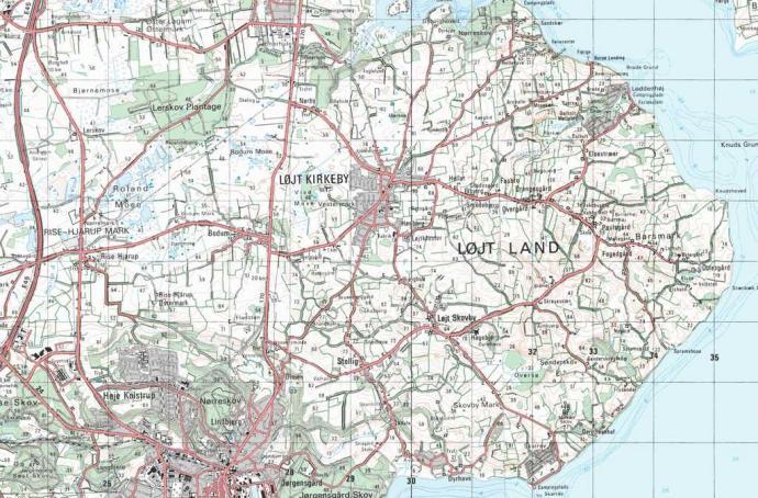 Lojtland 1001 Fortaellinger Om Danmark