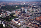 Aeral view of Carlsberg