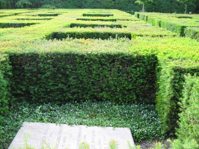 Mariebjerg Kirkegård hække