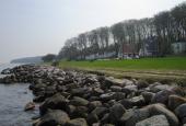Villaer med udsigt til Århus Bugt