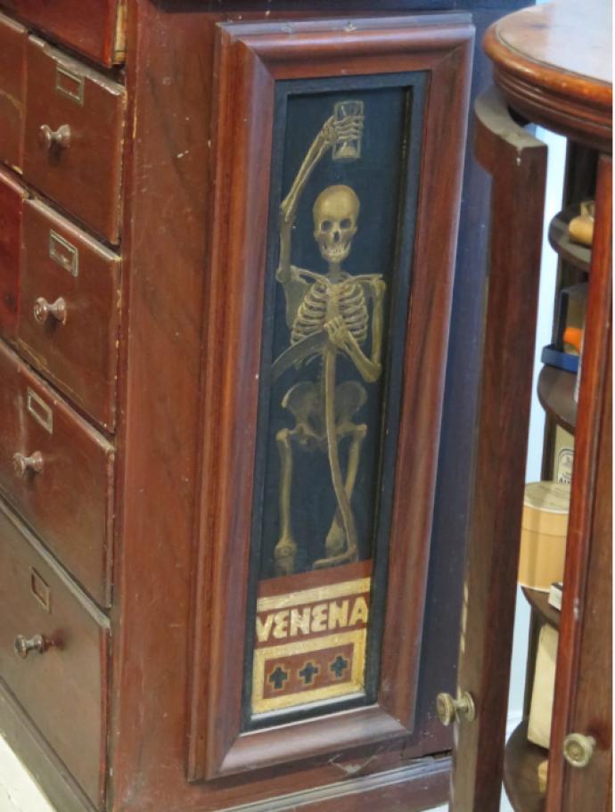 Fra apoteket på Medicinsk Museion