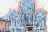 Det middelalderlige kirkerum
