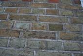 HAVEHUS: Struktur i murværk, pænt