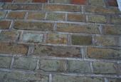 HAVEHUS: Struktur og farvespil/mursten