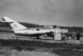 Jareckis jagerfly landet på Bornholm